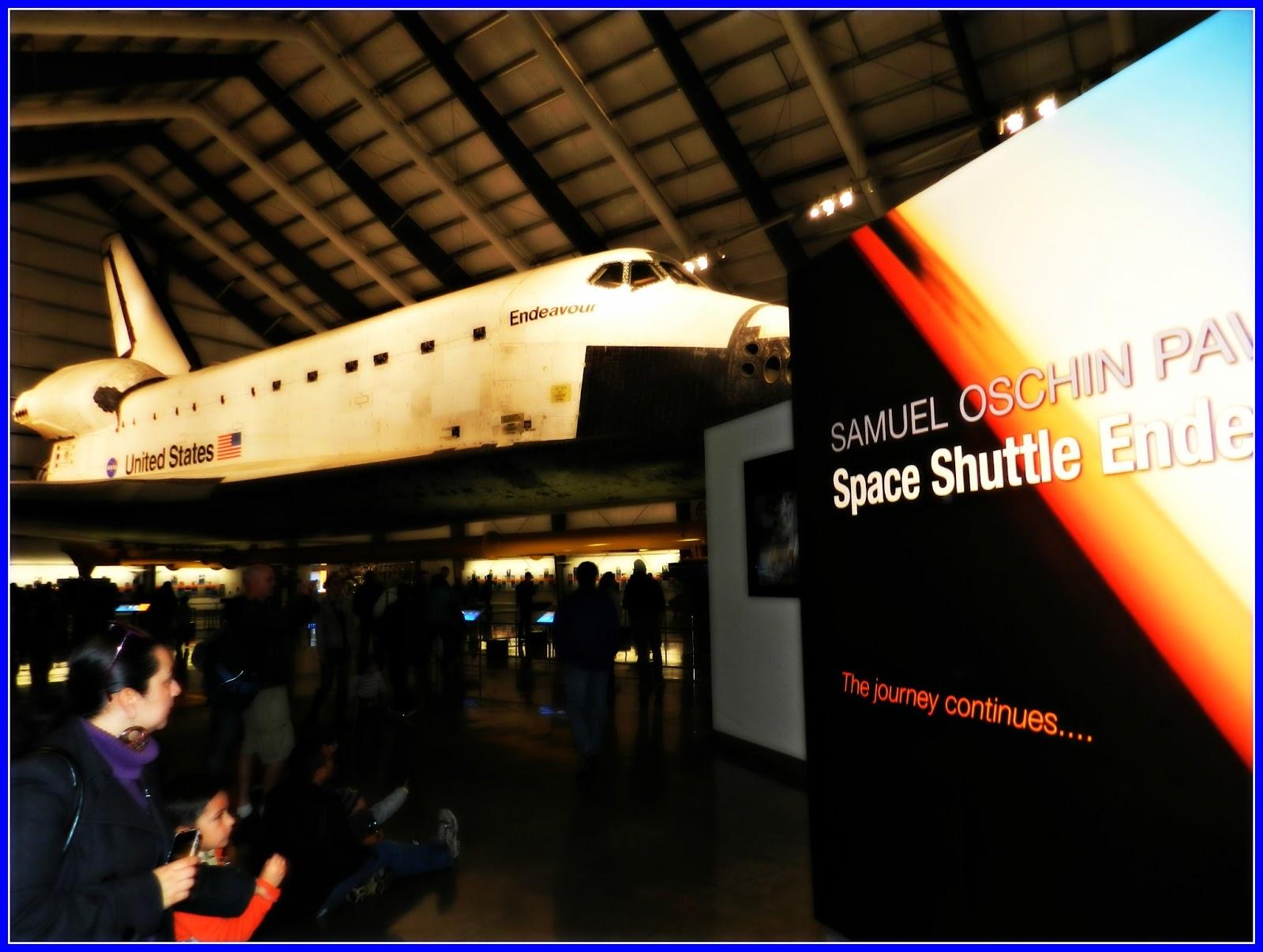 """Misión Enero 2013: Conocer """"Space Shuttle Endeavour ..."""
