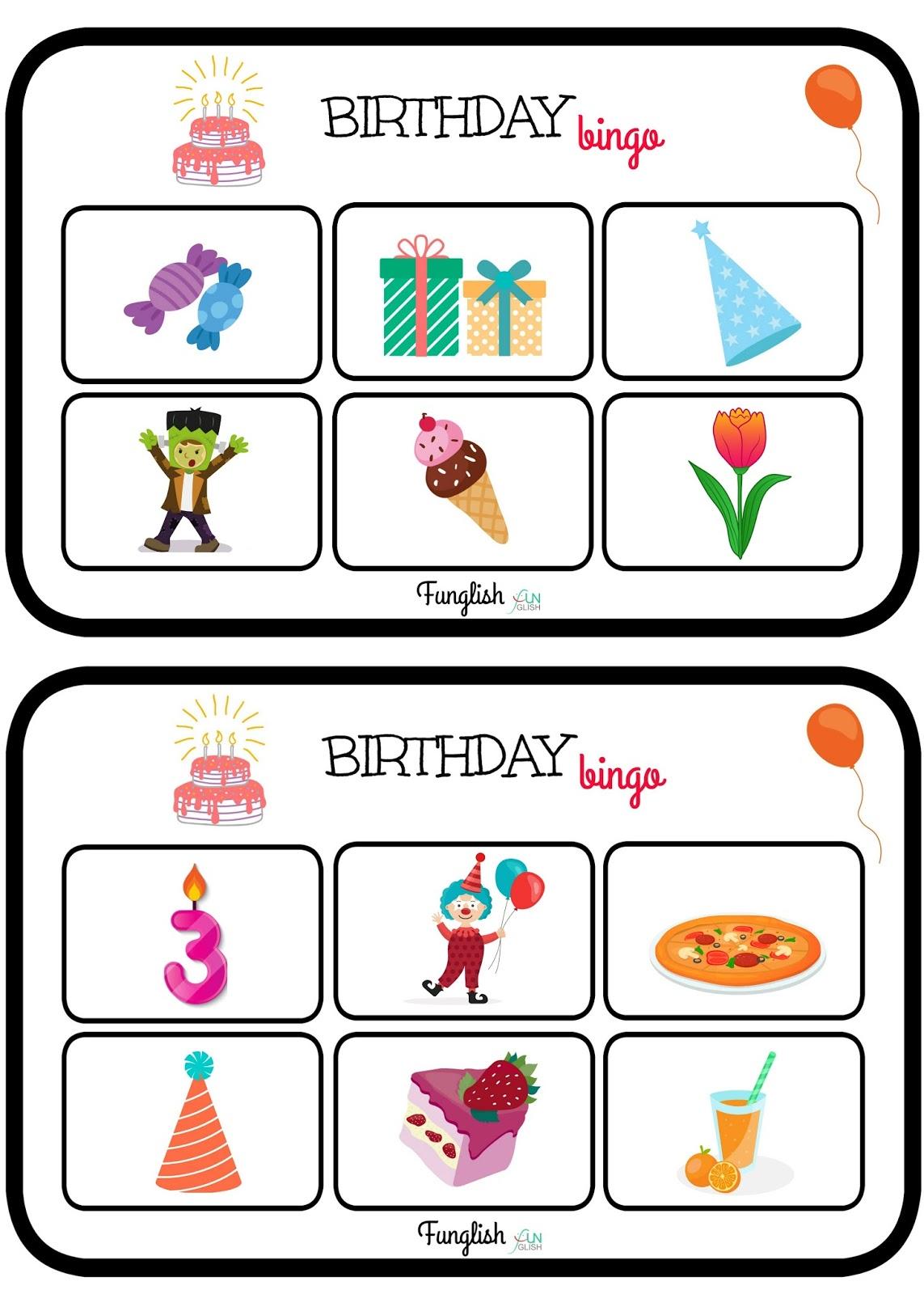 Funglish Happy Birthday