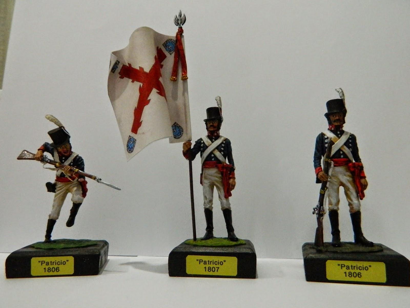 Regimiento de Patricios, por Roume
