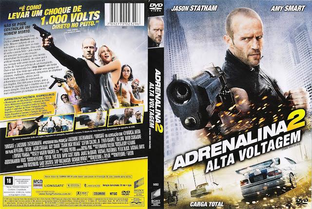 Capa DVD Adrenalina 2