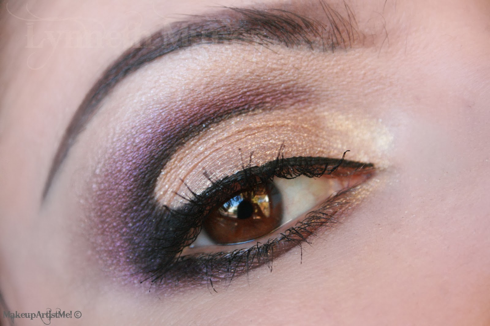 Make Up Artist Me Elegant Cut Crease Makeup Tutorial