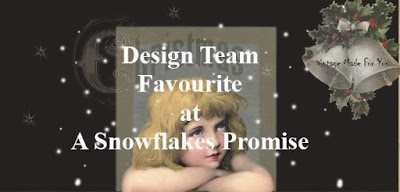 A Snowflakes Promise DT Favourite