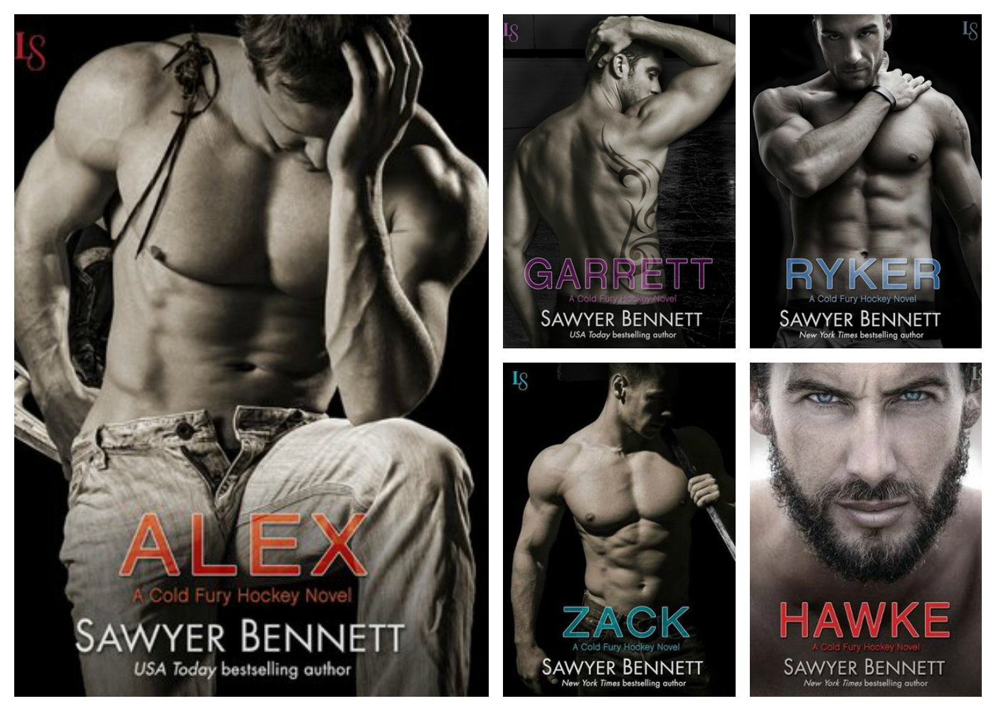The Cold Fury Hockey series, Sawyer Bennett