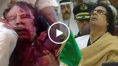 شاهد معمر القذافي ولقطة لن ينساها التاريخ ! ستندهش مما حدث !!