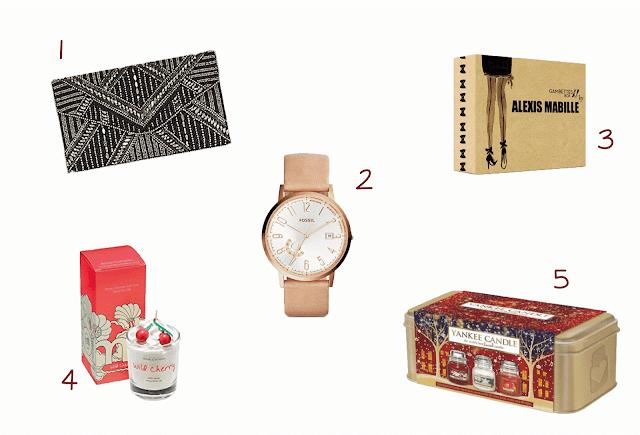 Noël 2015 : Idées cadeaux (pour femme) mode et maison