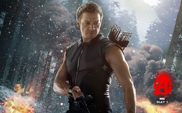 Hawkeye Avenger Age of Ultron Wallpaper