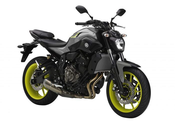 2017 Yamaha MT-07 Night Fluo