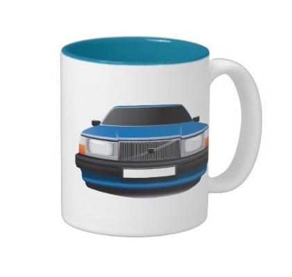 Volvo 740 kopp coffee mug