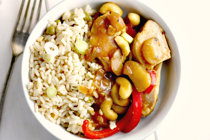 Chinese Chicken and Cashew Nuts