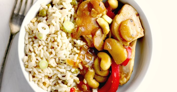 Chinese Chicken & Cashew Nuts
