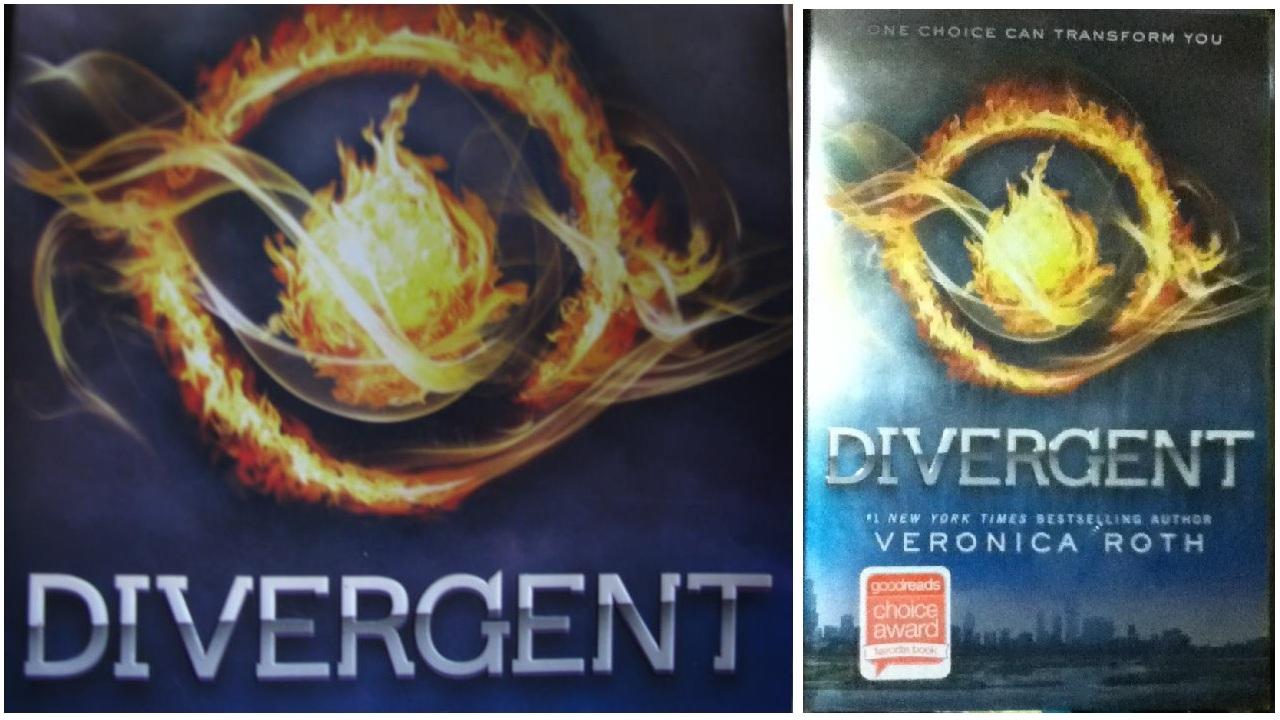 divergent four book-#23
