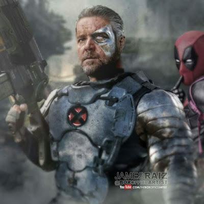 ¿Que opina de Russel Crowe como Cable en #Deadpool2?