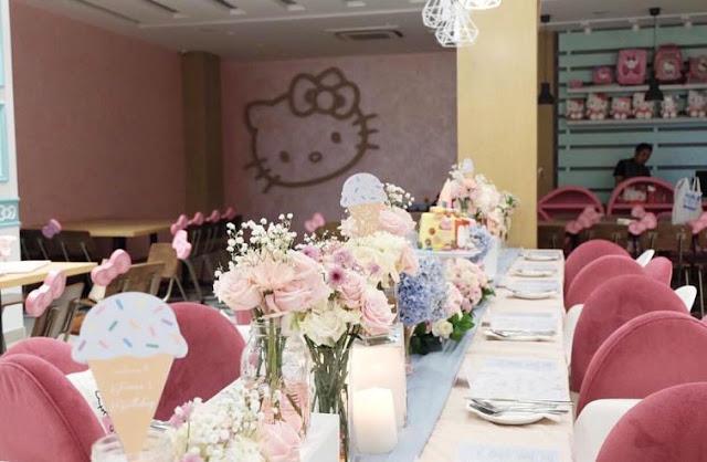 Hello Kitty Café - Tempat Makan Unik di Jakarta
