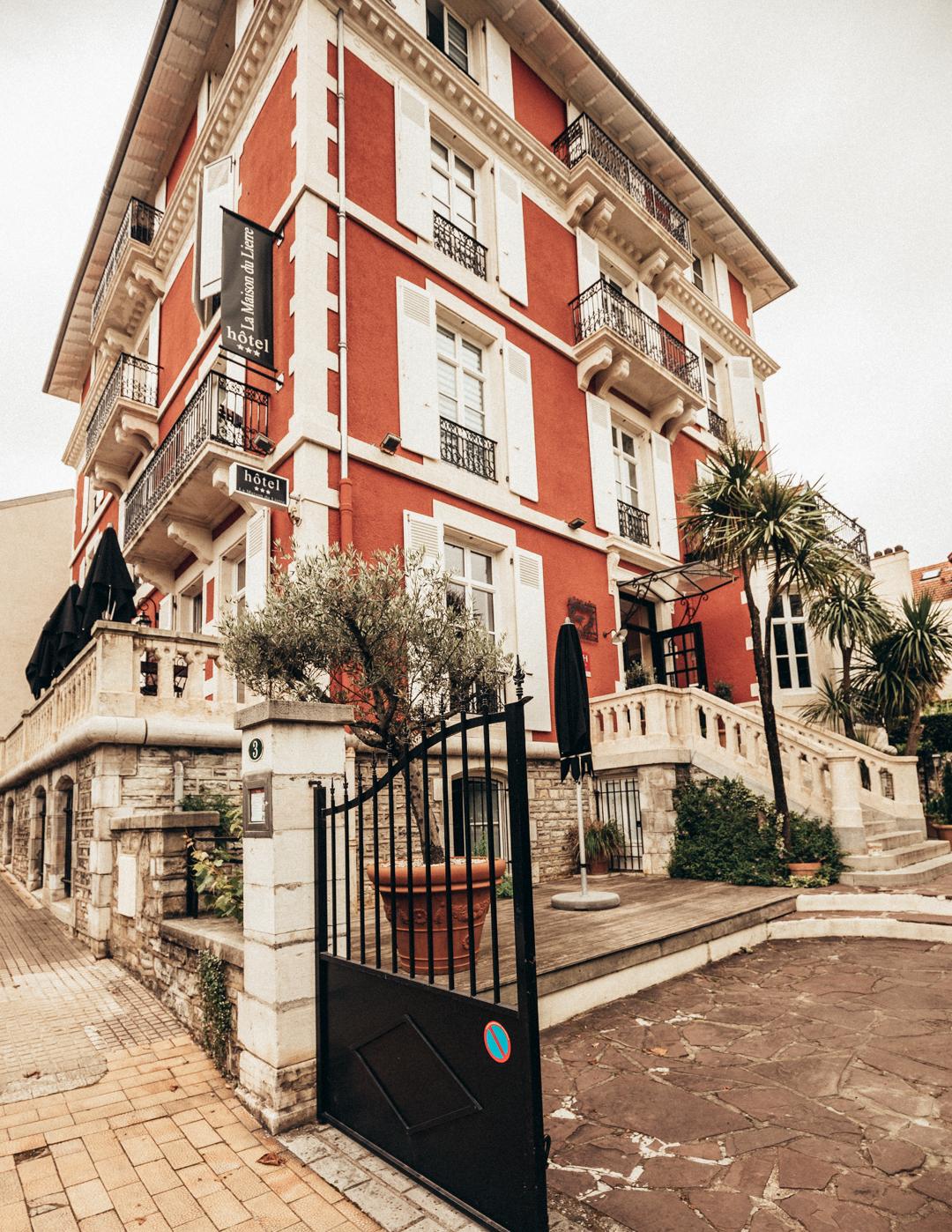 hotel la maison du lierre biarritz france