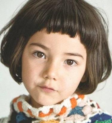 Cortes para nina cabello corto