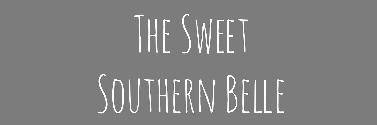 The Sweet Southern Belle