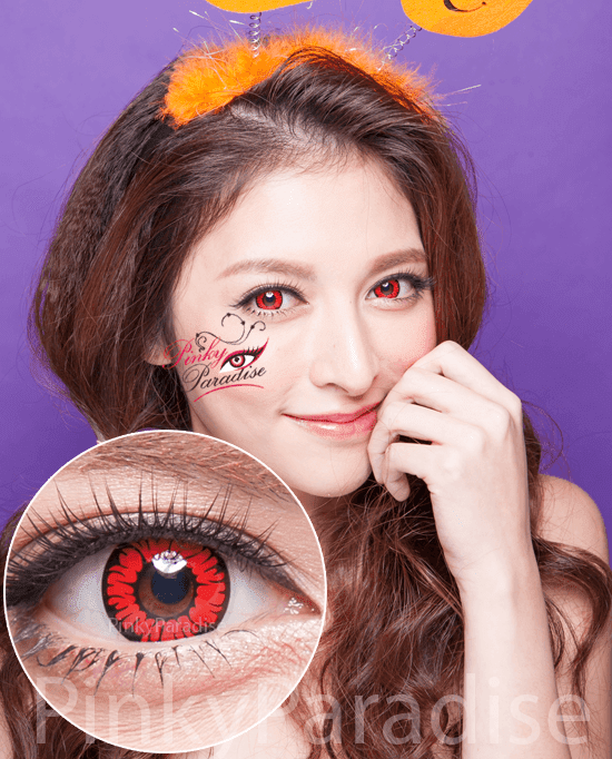 Princess Pinky Cosplay SF20 Circle Lenses (Colored Contacts)