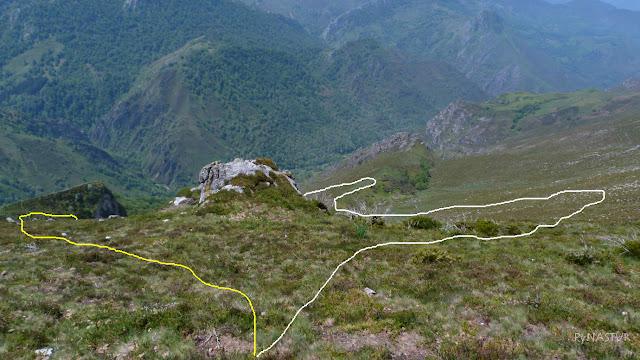 Descenso del Pico Vizcares