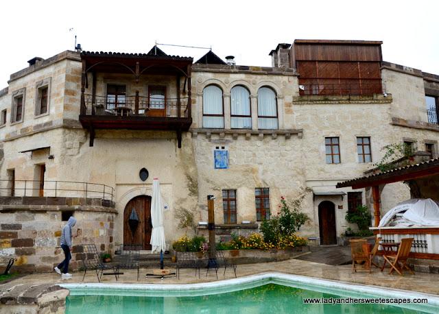 Anatolian stone house at Kelebek Cave Hotel