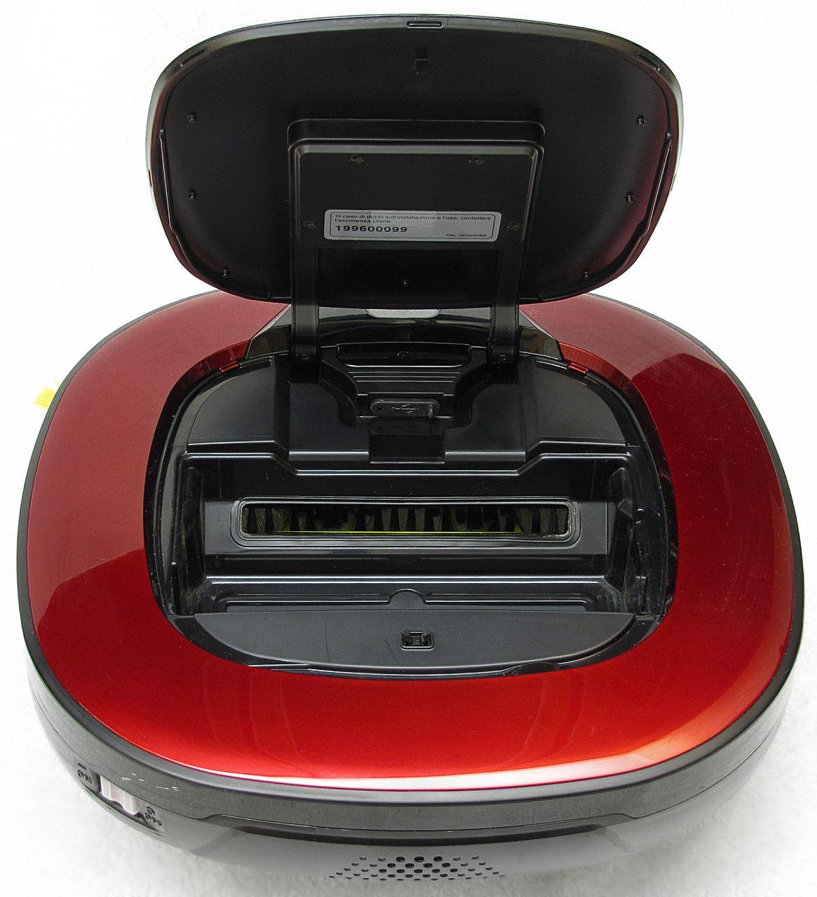 LG Hom-Bot Square 3.0 VR6260LV, vano USB
