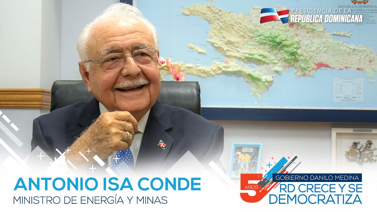 VIDEO: Antonio Isa Conde, ministro de Energía y Minas