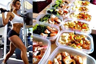 Alimentos día descanso de pesas