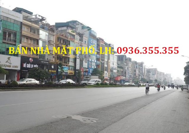 Chính chủ nhờ bán nhà mặt phố Trần Đăng Ninh, Cầu Giấy