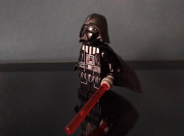 Darth Vader Star Wars lego fan art