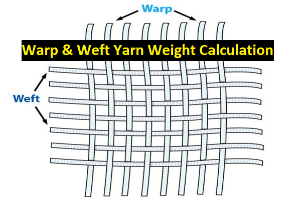 How to Calculate Warp and Weft Weight in Textile Industry