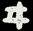 カタカナのペンキ文字「ヰ」