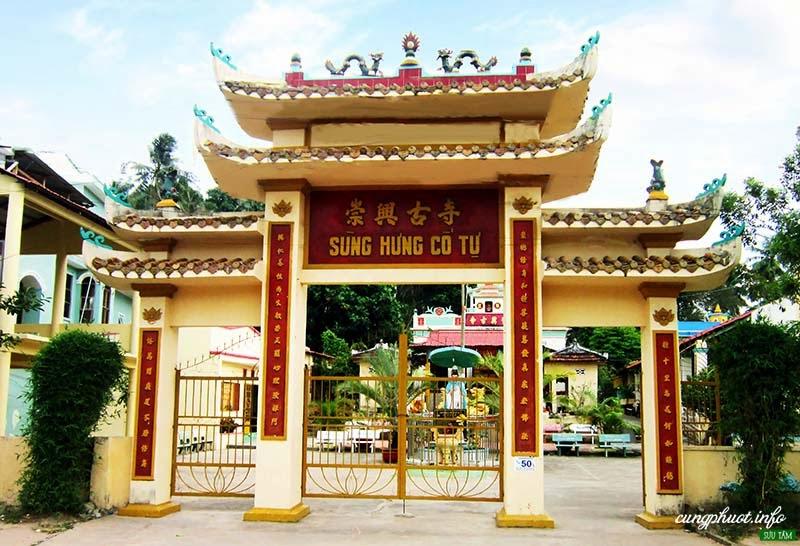 Sùng Hưng Cổ Tự, ngôi chùa lâu đời nhất ở Phú Quốc