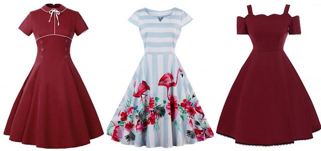 rosegal, wishlist, sukienka, retro, moda,