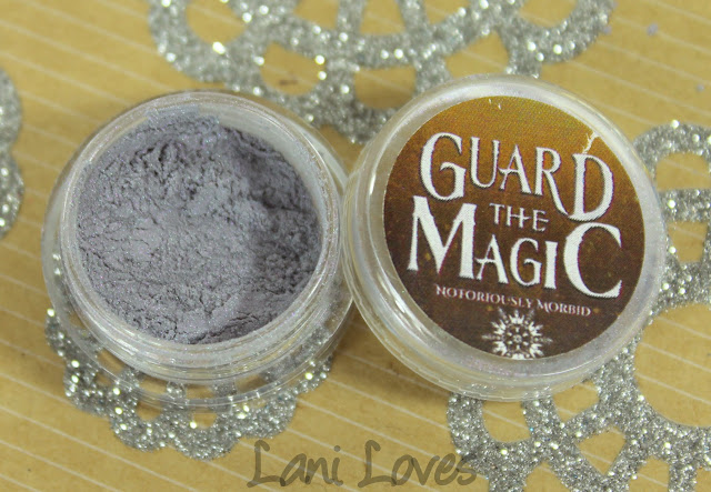 Notoriously Morbid People Believe In Me Eyeshadow Swatches & Review