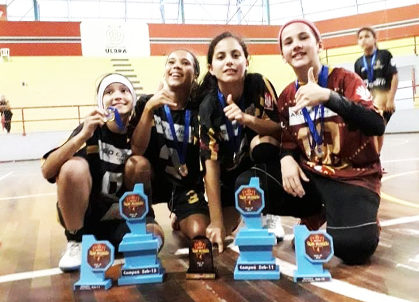 5644c96429 O próximo compromisso será dia 9 de dezembro em Morrinhos onde o Projeto  Reliquias participará com as mesmas categorias na Copa Super 10 de futsal  feminino ...