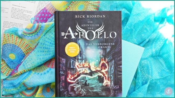 Rezension Die Abenteuer des Apollo Das verborgene Orakel