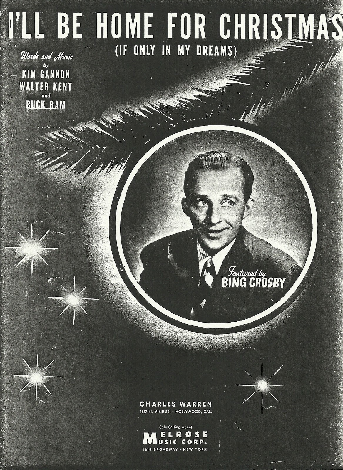 I Ll Be Home For Christmas Bing Crosby.Greenwich History I Ll Be Home For Christmas As Promised