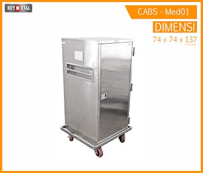 cabinet stainless untuk tempat obat dan medis