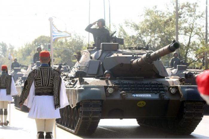 Δείτε Live τη Στρατιωτική Παρέλαση της 25ης Μαρτίου απο το Σύνταγμα