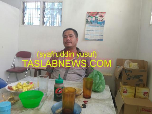 anggota DPRD dari fraksi PKS Asahan Hidayat Nasution