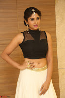 Roshni Prakash in a Sleeveless Crop Top and Long Cream Ethnic Skirt 084.JPG