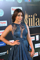 Shriya Saran in Beautiful Transparent Dark Gown IIFA Utsavam Awards 2017 017.JPG