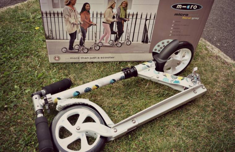 Adult Micro Floral White Scooter From Micro Scooters Review