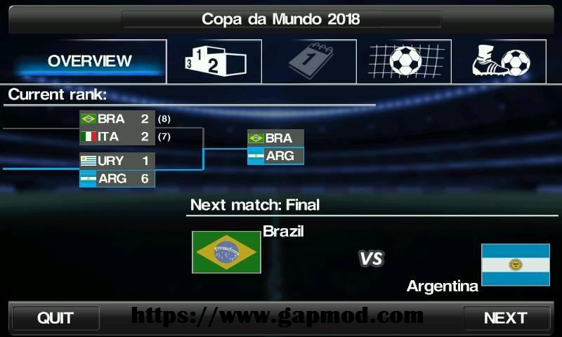 Download winning eleven for android