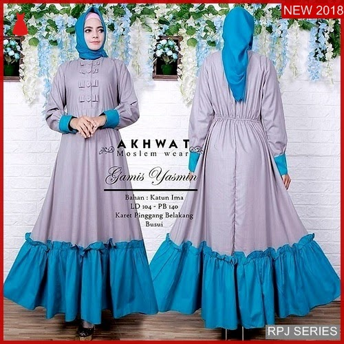 RPJ213D167 Model Dress Yasmine Cantik Dress Wanita