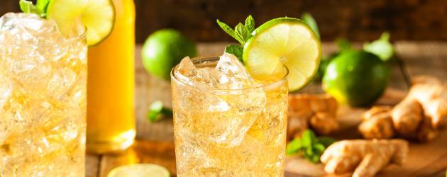 Receita de gengibre com suco de limão