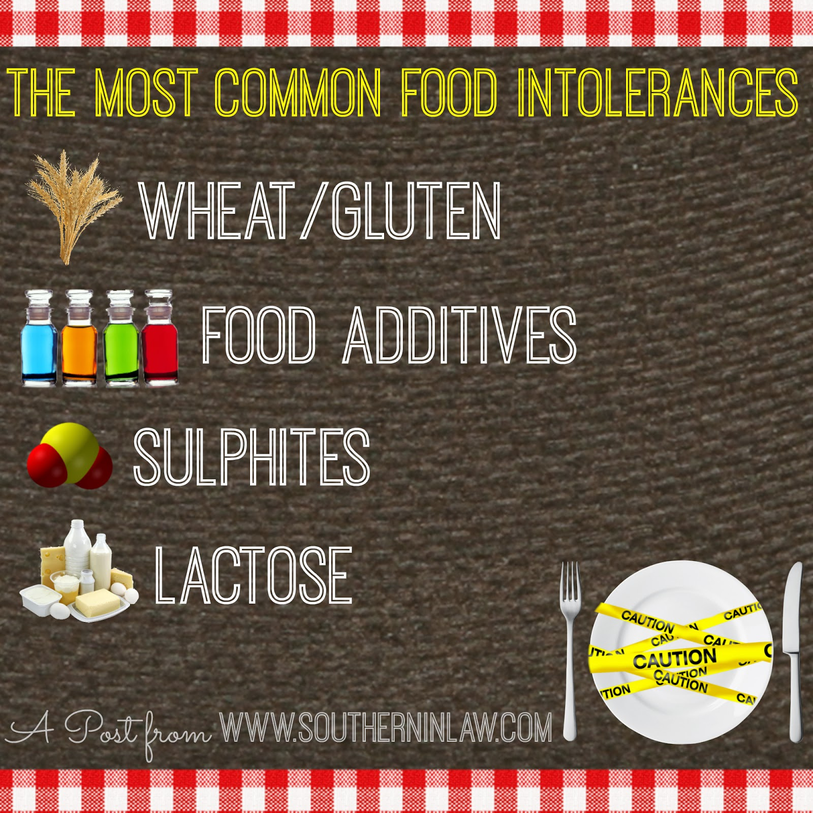 The most common food intolerances - The difference between food allergies and intolerances