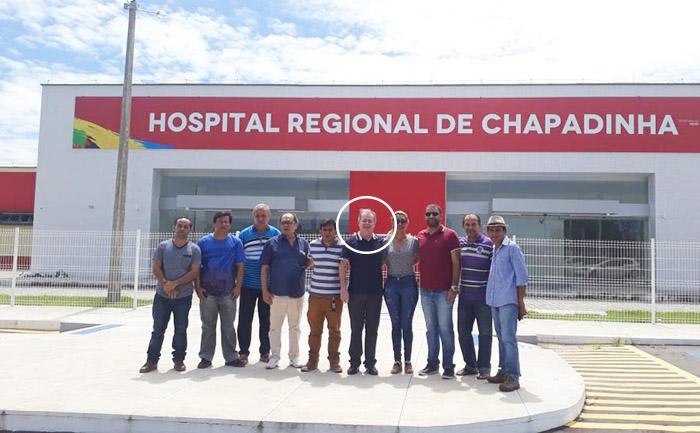 Levi Pontes foi contra a construção do Hospital Regional de Chapadinha