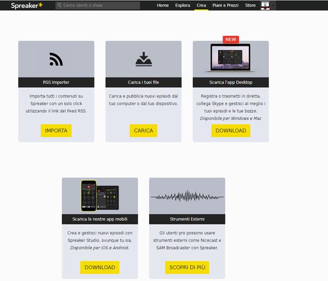 spreaker-web-radio