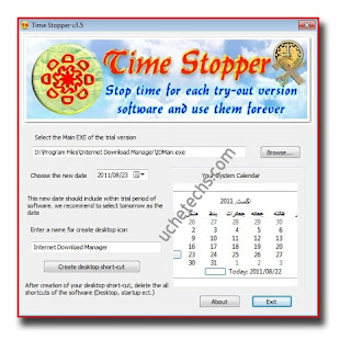 Time Stopper software trial