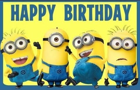 Happy Birthday Minions Pictures